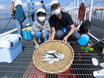 尼崎市立魚つり公園の2020年8月23日(日)2枚目の写真