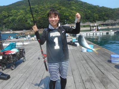 由良海つり公園&釣堀ランドの2020年8月23日(日)1枚目の写真