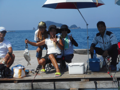 由良海つり公園&釣堀ランドの2020年8月23日(日)2枚目の写真