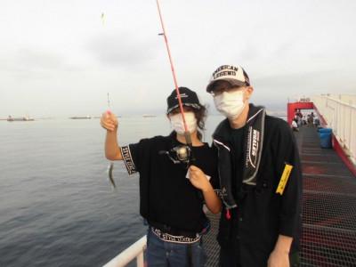 尼崎市立魚つり公園の2020年8月24日(月)3枚目の写真