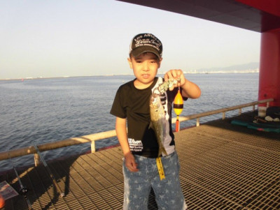 尼崎市立魚つり公園の2020年8月26日(水)1枚目の写真