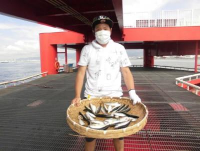 尼崎市立魚つり公園の2020年8月28日(金)2枚目の写真