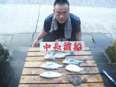 中長渡船の2020年8月28日(金)1枚目の写真