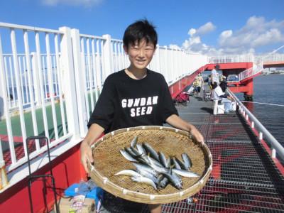 尼崎市立魚つり公園の2020年8月29日(土)2枚目の写真