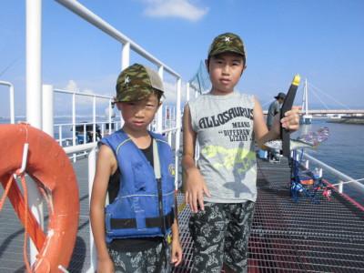 尼崎市立魚つり公園の2020年8月30日(日)2枚目の写真