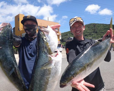 丸銀釣りセンターの2020年8月15日(土)1枚目の写真