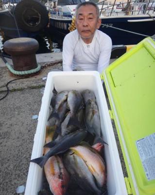 丸銀釣りセンターの2020年8月17日(月)3枚目の写真