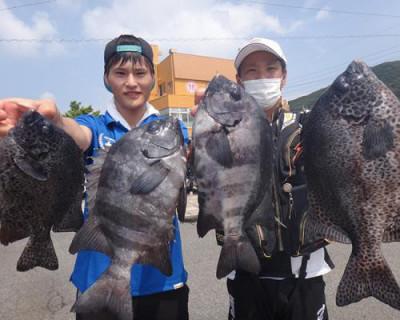 丸銀釣りセンターの2020年8月23日(日)1枚目の写真