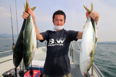西岡遊漁の2020年8月22日(土)3枚目の写真