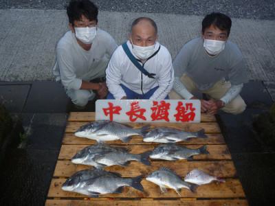 中長渡船の2020年9月19日(土)1枚目の写真