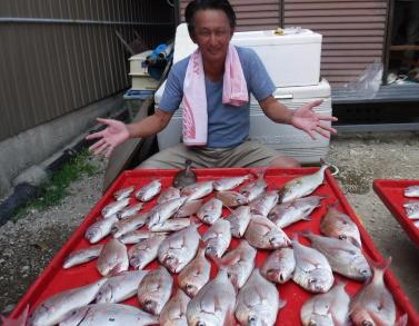奥村釣船の2020年9月19日(土)3枚目の写真