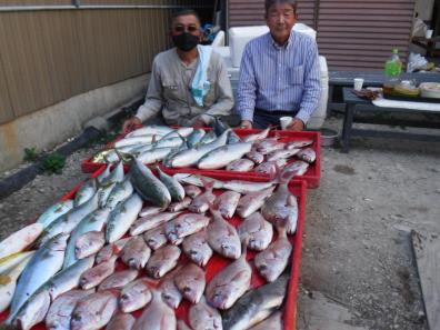 奥村釣船の2020年10月15日(木)5枚目の写真