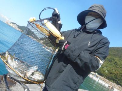 由良海つり公園&釣堀ランドの2020年10月20日(火)2枚目の写真
