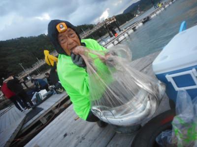 由良海つり公園&釣堀ランドの2020年10月24日(土)3枚目の写真