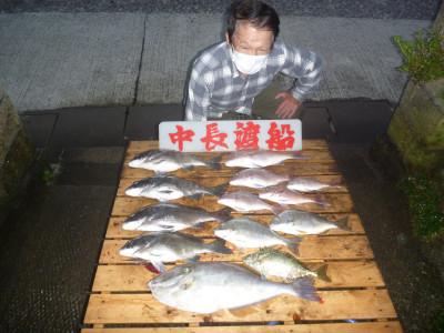 中長渡船の2020年10月28日(水)1枚目の写真
