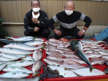 奥村釣船の2020年11月15日(日)1枚目の写真
