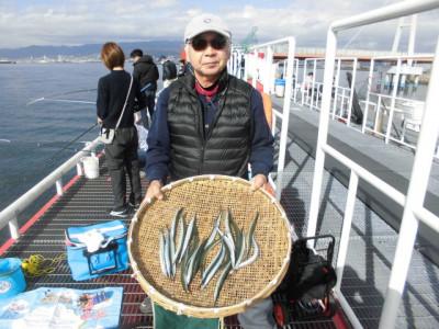 尼崎市立魚つり公園の2020年11月22日(日)3枚目の写真