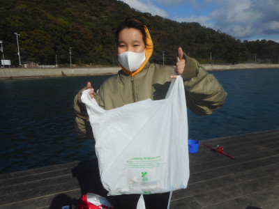 由良海つり公園&釣堀ランドの2020年11月23日(月)1枚目の写真