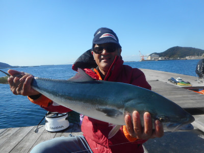 由良海つり公園&釣堀ランドの2020年11月24日(火)1枚目の写真