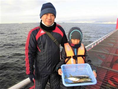 尼崎市立魚つり公園の2020年11月28日(土)2枚目の写真