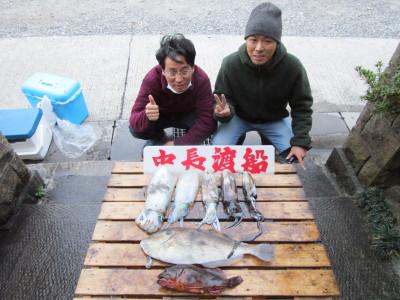 中長渡船の2020年11月28日(土)1枚目の写真