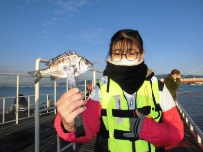 尼崎市立魚つり公園の2020年11月29日(日)1枚目の写真