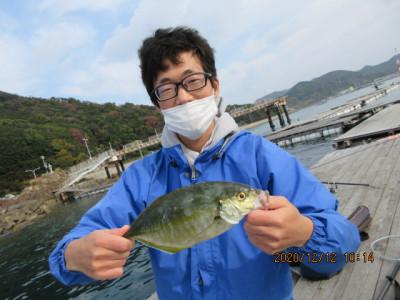 由良海つり公園&釣堀ランドの2020年12月12日(土)1枚目の写真