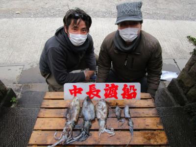 中長渡船の2020年12月13日(日)2枚目の写真