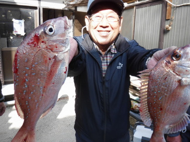 奥村釣船の2020年12月14日(月)1枚目の写真