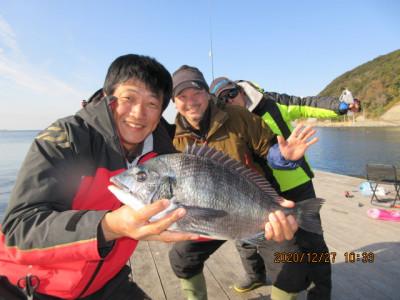 由良海つり公園&釣堀ランドの2020年12月27日(日)2枚目の写真