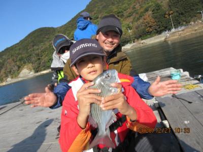 由良海つり公園&釣堀ランドの2020年12月27日(日)3枚目の写真