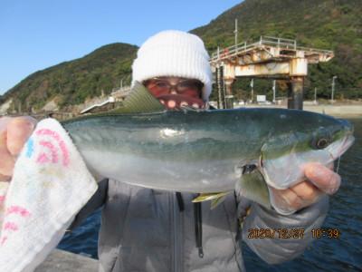 由良海つり公園&釣堀ランドの2020年12月27日(日)4枚目の写真