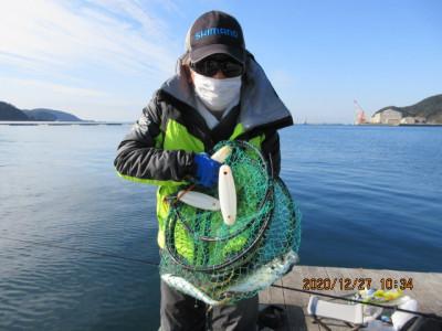 由良海つり公園&釣堀ランドの2020年12月27日(日)5枚目の写真