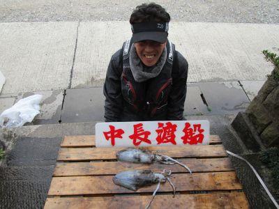 中長渡船の2020年12月27日(日)1枚目の写真