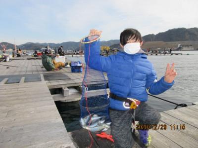 由良海つり公園&釣堀ランドの2020年12月29日(火)2枚目の写真