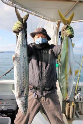 西岡遊漁の2020年12月21日(月)3枚目の写真