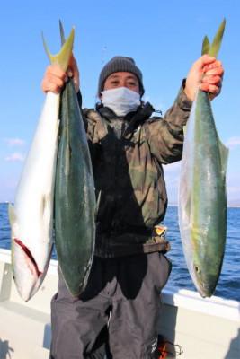西岡遊漁の2020年12月22日(火)1枚目の写真