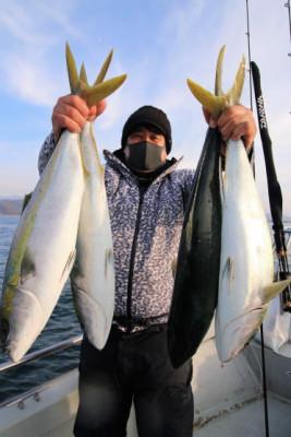 西岡遊漁の2020年12月23日(水)4枚目の写真