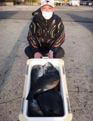 丸銀釣りセンターの2021年1月16日(土)1枚目の写真