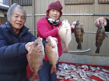 奥村釣船の2021年1月19日(火)1枚目の写真