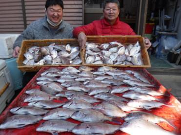 奥村釣船の2021年1月19日(火)3枚目の写真