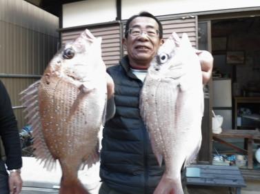 奥村釣船の2021年1月20日(水)1枚目の写真