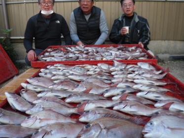 奥村釣船の2021年1月20日(水)3枚目の写真