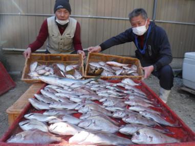 奥村釣船の2021年1月21日(木)4枚目の写真