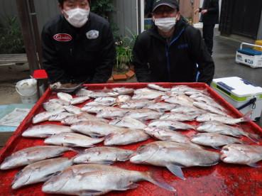 奥村釣船の2021年1月22日(金)1枚目の写真