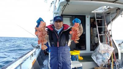 遊漁船ビックボーイの2021年1月23日(土)1枚目の写真