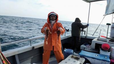 遊漁船ビックボーイの2021年1月23日(土)2枚目の写真