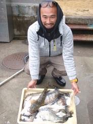 村櫛フィッシング沖の2021年1月24日(日)1枚目の写真