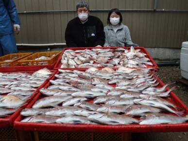 奥村釣船の2021年1月23日(土)1枚目の写真
