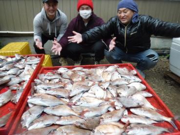 奥村釣船の2021年1月23日(土)2枚目の写真